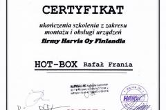 Certyfikat_Harvia